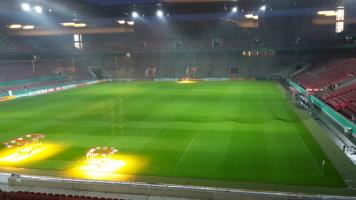 Auslosung im RheinEnergie Stadion