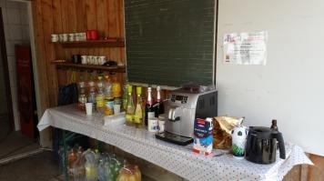Kaffeevollautomat für die Betreuer